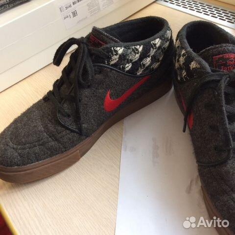 size 40 c0ffe 566c3 Nike SB Stefan Janoski Mid Warmth Black Red— фотография №1