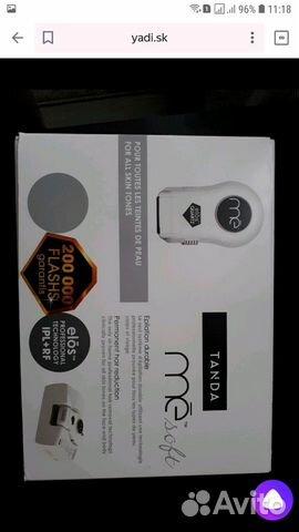 Эпилятор Tanda Me Soft - для домашней элосэпиляции 89534413240 купить 3