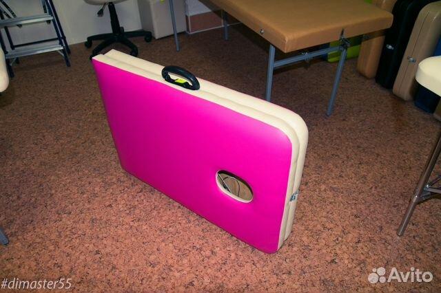 Кушетки складные розового цвета 89609940901 купить 3
