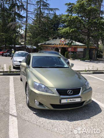 Lexus IS 2.5AT, 2007, 195000км