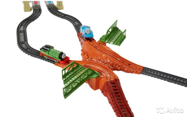 Fisher Price Trackmaster - Thomas & friendsdfm53 89062132153 купить 2