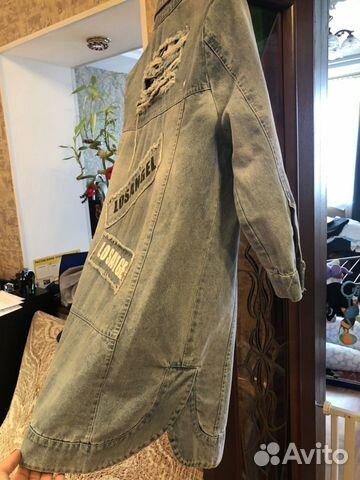 Куртка джинсовая 89021703087 купить 3