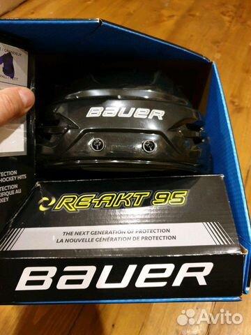 89036020550 Шлем хоккейный Bauer reakt 95, р. M, пр нов