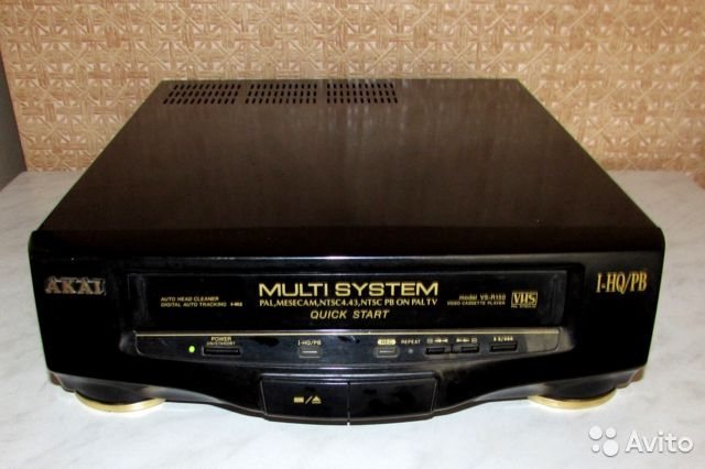 Akai VS-R150 видеоплейер пишущий 89038405457 купить 1
