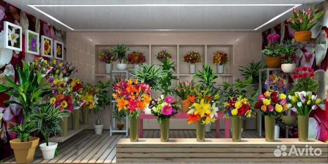 89220004530 Крупный цветочный салон