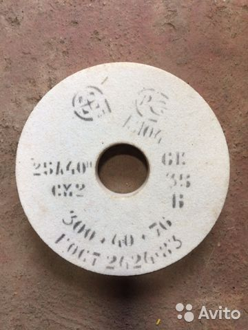 Круг шлифовальный 300х40х76 25А40  купить 1