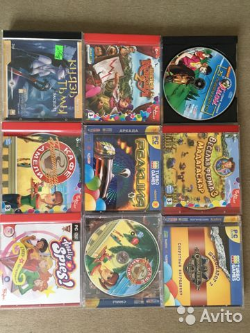 Компьютерные игры для детей  купить 2