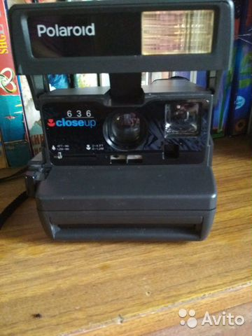 The camera is the Polaroid of the 90s