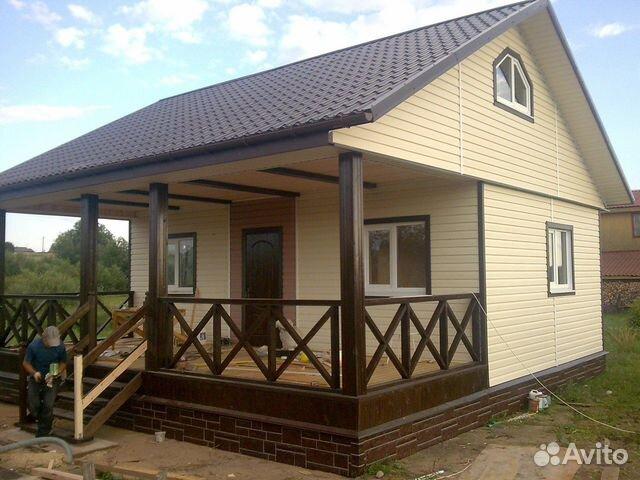 Монтаж сайдинга, фасадные работы дачных домов  89052931752 купить 3