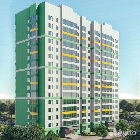 2-к квартира, 53.7 м², 6/16 эт. 89835507191 купить 3