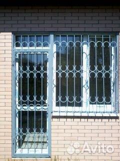 Услуги - металлические решетки на окна, лоджии, балконы в ро.