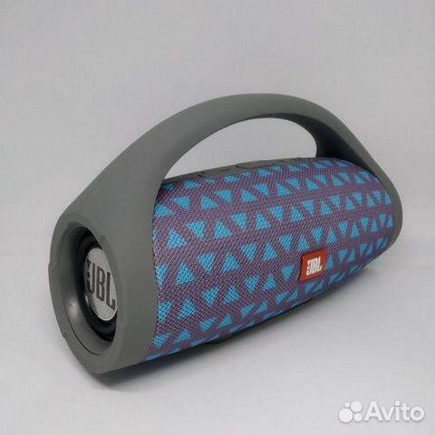 Портативная bluetooth колонка JBL Boombox Серая 89081399218 купить 2