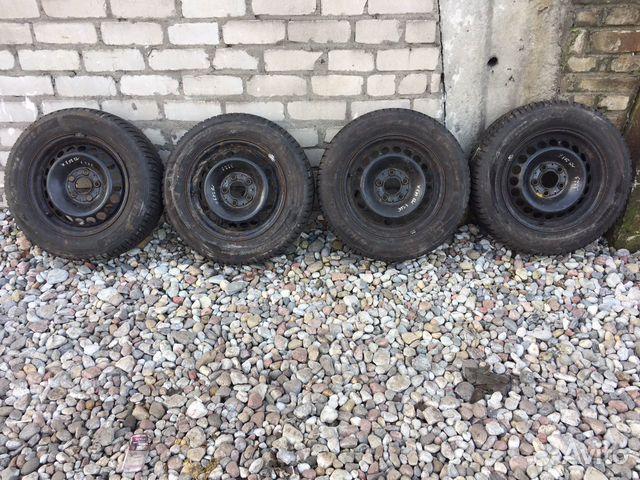 Продам колеса на мерседес R15 с зимней резиной 89114511841 купить 1