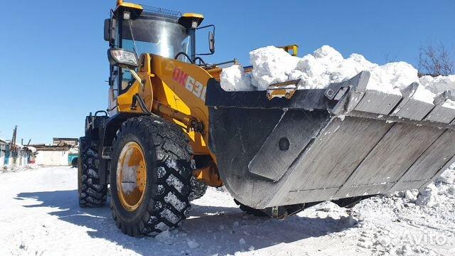 Аренда погрузчика уборка снега,мусора