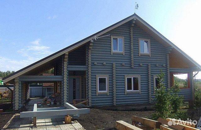Дома из оцилиндрованного и рубленого бревна 89127347064 купить 8