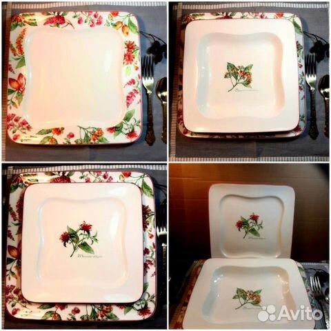Villeroy & boch,фарфор, набор тарелок,Германия 89042712487 купить 1