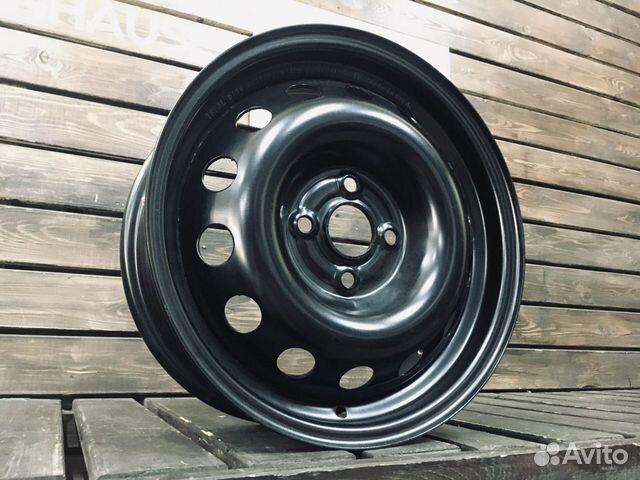 Новые диски 15 Штампованный 4x100 W304