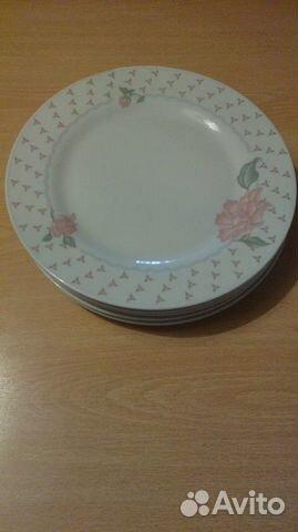 Тарелки белые 6шт