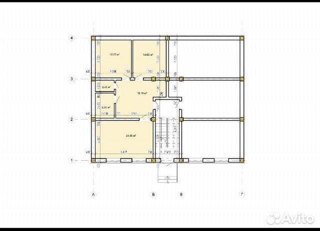 2-к квартира, 42 м², 2/3 эт. 89034237549 купить 3