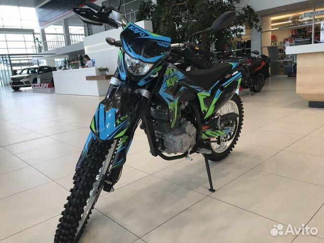 Мотоцикл kayo T2 250 enduro 21/18 88792225000 купить 2