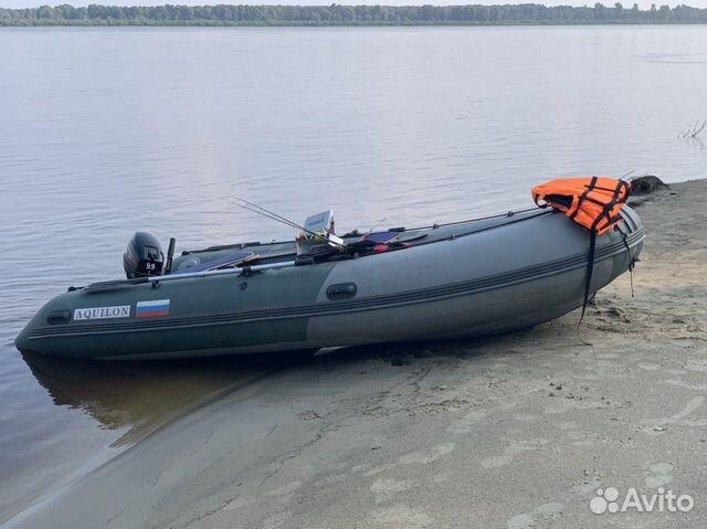 Надувная лодка нднд Аквилон 430св  89537999396 купить 1