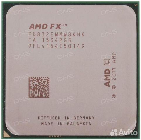 Процессор fx 8320e 3.2 гц +материнуа оперативка и  89678206798 купить 1