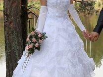Платье свадебное и аксессуары