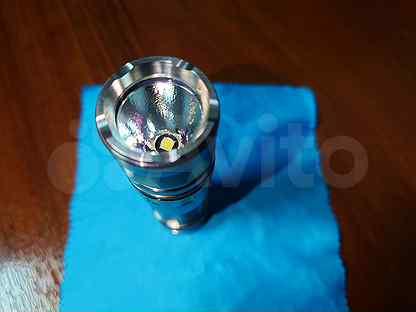 Светодиодный фонарь JetBeam TCR20 Titanium Limited