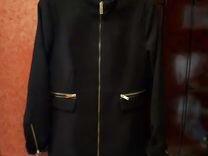 Новое драповое осеннее пальто 44 размер