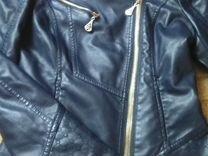 Кожаная куртка S