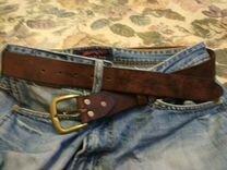 Ремни кожаные, ручной работы