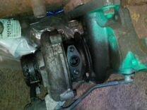 Турбина б/у на двигатель 4D56. В сборе