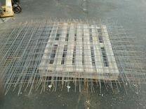 Сетка стальная 100/100 4мм 1.5 на 2 м