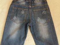 Шорты джинсовые 158