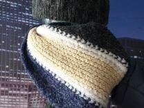 Продам вязанную шапку + шарф