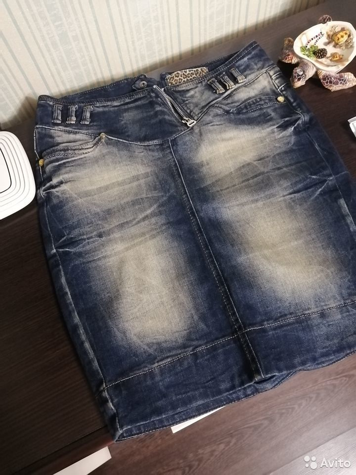 Юбка джинсовая  89089598825 купить 1