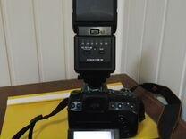 Sony Alpha dslr-A500 + Вспышка Sigma EF 530 DG ST