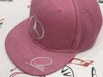 Кепка Mercedes AMG розового цвета