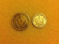 Монеты Куба, 5 и 1 сентаво