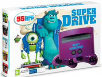 "Приставка sega Super Drive ""Monster Inc"" 50игр"
