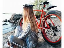 Фэтбайк велосипед на широких колесах