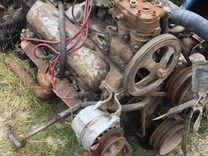 Двигатель + коробка ЗИЛ 130. Врабочсостоянии