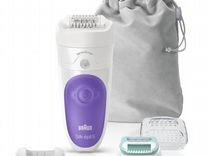 Эпилятор новый Braun Silk-epil 5 SensoSmart 5/880