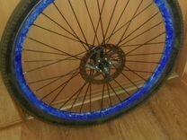 Заднее колесо на 26 с ротором (двойной обод)