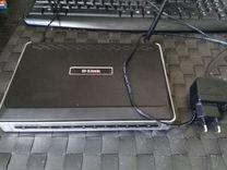 Wi-Fi роутер D-link DVA-G3672B (не работает)