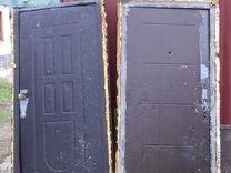 Двери строительные металлические