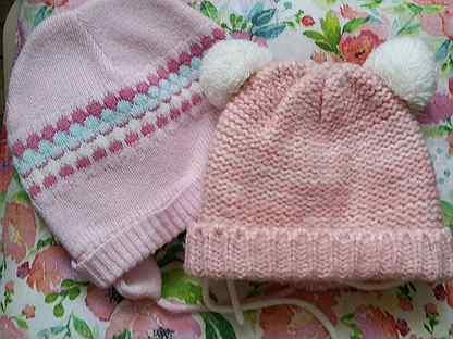 Зимние шапочки от 1 до 2,5 лет