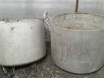 Алюминиевые кастрюли б/ у. на 30 и 40 литров