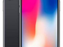 iPhone X черный, 64gb