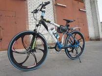 Велосипед на литых дисках. Арт: 284